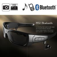 Wholesale Spy Hidden Camera Glasses Wireless With 5.0 Mega Pixel For Android Phone / Iphone from china suppliers