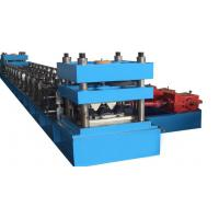 Wholesale Two Waves 2mm-4mm Sheet Thickness Highway Guard Rail Roll Forming Machine With Line Speed 5 - 20m/min from china suppliers