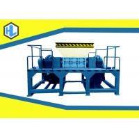 Wholesale Blue Color Alloy Steel Blades Organic Waste Shredder Simens Motor Powered from china suppliers