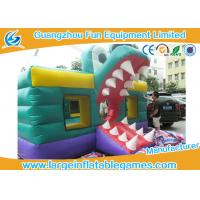 Wholesale 0.55mm PVC Tarpaulin Crocodile Inflatable Alligator Bounce House With HD Cartoon Printing from china suppliers