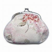 Wholesale Fashion Design Coin Purse with Metal Clip, Measures 13 x 10cm from china suppliers