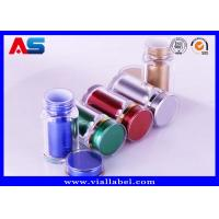 China Silver Color 60ml Plastic Capsule Bottles / High Grade Empty Medicine Bottle on sale