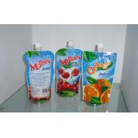 Wholesale Spout Pouches Packing with Gravure Printing , Custom Printed Stand up Pouch with Spout from china suppliers