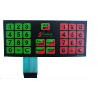 Wholesale Anti Corrosion Multiple Dome Custom Membrane Keypad For TV Remote Control from china suppliers