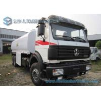 Quality North Benz 6x4 Oil Tank Truck Trailer Carbon Steel  22000 L Fuel Tanker Truck for sale