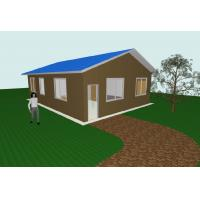 Wholesale Modern Flat Pack 3 Bedroom House Plans Modular Homes For Guard House , Shop from china suppliers