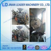Wholesale Big capacity commerical coffee bean roasting machine from china suppliers