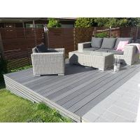 Buy cheap Grey composite decking for private yard and garden from wholesalers