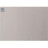 Wholesale Round Micro Hole Perforated Metal Sheet , Metal Mesh Panels For Filter Screen from china suppliers