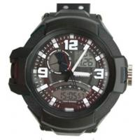Wholesale Japan Movt Analog-Digital Watch Black With Alloy Bezel Stainless Steel Back from china suppliers