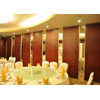 Wholesale Acoustic Movable Partition Walls , VIP Wooden Partition Door from china suppliers