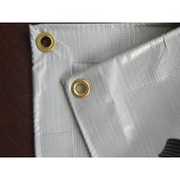 Wholesale 17*34ft pvc ready-made tarpaulin with eyelets for truck cover from china suppliers