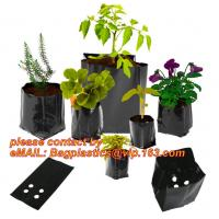 Wholesale Poly Planter, Grow Bag, garden bags, grow bags, hanging plant bags, planters, Plastic planting bags, pot, plant grow bag from china suppliers