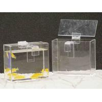 Wholesale Custom Acrylic Fish Tank , Rectangle Plexiglass Fish Tank With Lid from china suppliers