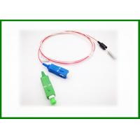 Wholesale SM SC / APC - SC / PC Fiber Optic Patch Cord Optical Jumper Wires With FPC Connector from china suppliers