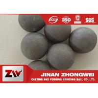Wholesale Good wear resistance Mineral Processing Forged Grinding Ball Dia 25-125mm from china suppliers