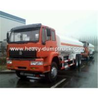 Buy cheap Fuel Transportation Oil Tank Truck 6x4 25 CBM With HF7 Front Axle and ST16 Rear Axle from wholesalers