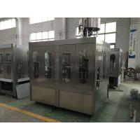 Water Pet Bottle Rinsing Filling Capping Machine / Plant 50HZ Frequency