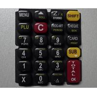 Wholesale Glossy Oil 3 Color Printing Silicone Rubber Mold For Keypad from china suppliers