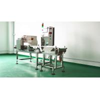 Quality High speed combined metal detection and check weigher machine for metal detection and weight sorting process for sale