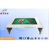 Coffee Shop White Infrared Interactive Multi Touch Table