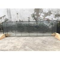 "Wholesale 22"" * 48"" Black  Patina Patterned Glass Panels , 19 - 30 Mm Decorative Glass Sheets from china suppliers"