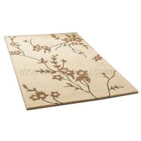 Wholesale Modern Design Acrylic Hand-tufted Floral Area Rug, Deep And Soft Pile Rugs Customized from china suppliers