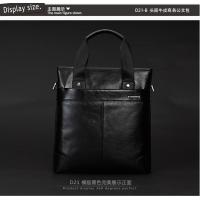 Wholesale high quality cattlehide portable bags for commercial man from china suppliers
