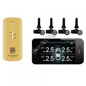 Wholesale Sensor de presión de la rueda del coche con 4 sensores TPMS para iOS Android Phone from china suppliers