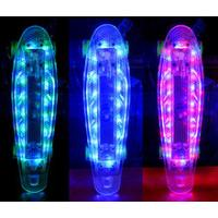 Wholesale LED light skateboard deck led wheel skateboard with CE from china suppliers