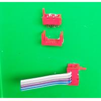 Wholesale Goood quality connectors1.27mm pitch 2 pieces set  red color FC connector from china suppliers