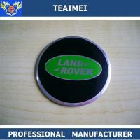 Wholesale Black Green Land Rover Wheel Emblems Decals High Temperature ABS from china suppliers