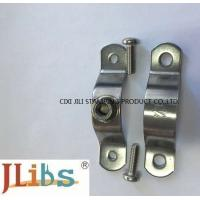 Wholesale Flexible Coupling Pipe Clamp Bracket , Iron Pipe Clamp For Water Pipeline from china suppliers