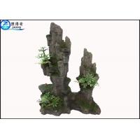 Quality Artificial Hill Decorative Aquarium Resin Ornaments For Indoor Fish Tank Decorations for sale