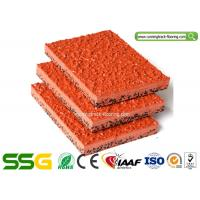 Wholesale Modified PU Mixed EPDM Granules Athletics Running Track Flooring Environmental-friendly from china suppliers