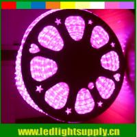 Buy cheap 2017 new  AC LED 220V strip flexible led ribbon 5050 smd pink 60LED/m strip from wholesalers