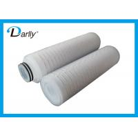 Wholesale High Temperature Polypropylene Water Filter Cartridge 5 Micron With High Flow from china suppliers