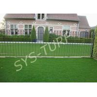 Quality Soft Decoration Synthetic Artificial Turf , Eco Friendly Artificial Grass for sale