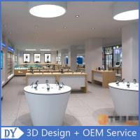 Wholesale mobile phone shop decoration showcase cell phone store design from china suppliers