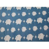 Wholesale Lovely Pig Winter Berber Fleece Fabric Jacquard For Blankets OEM / ODM Available from china suppliers