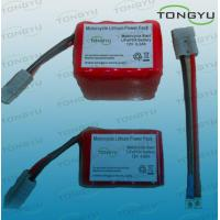 Wholesale 8 / 16 Cell 12v Lifepo4 Starter Battery , Lithium Ion Lightweight Motorcycle Battery from china suppliers