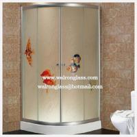 Wholesale Tempered Frosted Glass for Shower Room Tempered/Toughened Glass from china suppliers