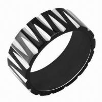 Wholesale Stainless Steel Rings, Customized Designs and Logos Accepted from china suppliers