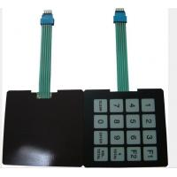 Wholesale PET Backlit Membrane Switch With Magnetic Plate Semitight 0.5mm from china suppliers