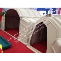 Buy cheap Farm Cow Calf Hutch With Steel Fence Around , Calf Houses Cow Cubicles from wholesalers