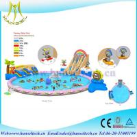 Wholesale Hansel 2017 hot selling PVC outdoor play area blow up ball pits from china suppliers