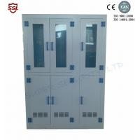 Wholesale Metal White Big Medical Storage Cabinet With Polypropylene , Six Doors from china suppliers