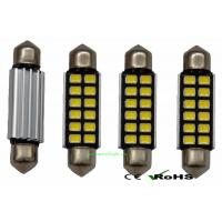 Wholesale 39mm 12SMD 5630 Pure White Canbus Error Festoon Car LED Dome Light Bulb from china suppliers