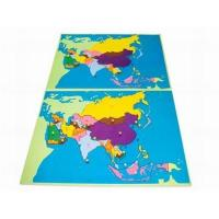 Wholesale Puzzle Map:Asia from china suppliers
