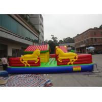 Wholesale Interesting Inflatable Fun City Playground Bouncy House With Air Blower from china suppliers